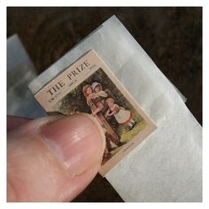 """Great tip to use tissue paper for the internal blank """"sheets"""" of a miniature magazine so that it lies flat 
