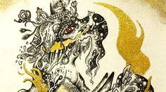 Nishigaki Yoshitaka 西垣至剛 http://n-yoshitaka.com/ https://www.youtube.com/c/NishigakiYoshitakaOfficial  線画メイキング[作品名:戯]Line Drawing|線画アートのメイキング映像