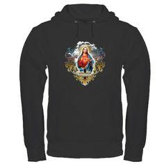 Sacred Heart of Jesus Hoodie (dark)