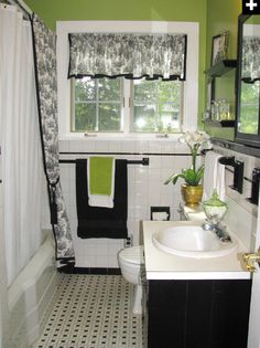 1000 images about black and white bath on pinterest shower curtains
