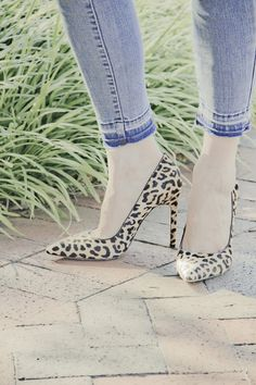 "Perfect print. Perfect price. Perfect for fall. Ivanka Trump ""Carra"" heels at Nordstrom for the win! @Nordstrom"