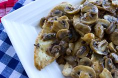 Chicken Mushroom Marsala from Italian Food Forever (Dried Porcini Mushrooms, White Mushrooms, Chicken, Rosemary, Dry Marsala) White Mushrooms, Italian Foods, Italian Recipes, Chicken Mushroom Marsala, Marsala Wine, Pork Meat, Easy Chicken Recipes, Main Courses, Marsala