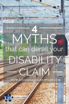 Your doctor says you're disabled. That's all you need, right? Right? Here are 4 myths that can derail your Social Security Disability claim. #SSDI Read more: http://www.louisianadisabilitylaw.com/4-deadly-myths-that-can-derail-your-louisiana-ssdi-claim/