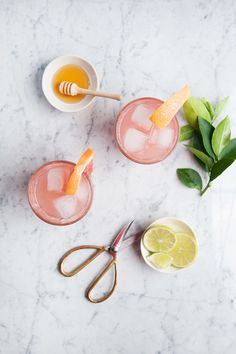 honey paloma cocktail | designlovefest