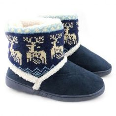 Trendy Suede and Animal Pattern Design Women's Snow Boots- These would be awesome slippers ;)
