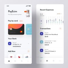 banking layout Daily UX/UI Inspiration In - banking App Ui Design, Mobile App Design, Web Design, Interface Design, Creative Design, Ios Ui, Ui Ux, Dashboard Ui, App Design Inspiration