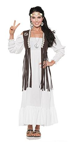Introducing Womens Retro Hippie Costume  Earth Child. Get Your Ladies Products Here and follow us for more updates!
