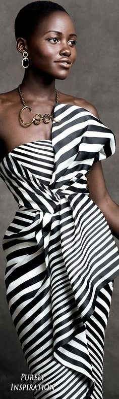Lupita Nyongo, Actress, Photographed by Mario Testino, Vogue, October 2016 | Purely Inspiration