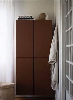 IKEA Ivar, målad med Jotuns Norwegian Wood