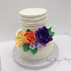 #bridalshowercake #littlesugarshopny #littlesugarshop