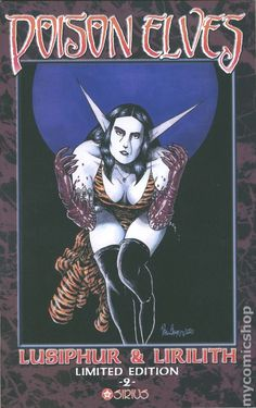 Poison Elves Lusiphur and Lirilith Limited Edition #2