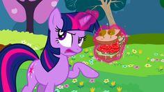 My Little Pony - Twilight Sparkle's Talking Sandwich Recipe (Use vegan cream cheese.)