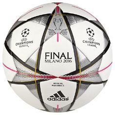 adidas Finale Milano 2016 UEFA CL Official Match Soccer Ball    SoccerEvolution 9b420a56f60df