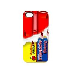 Cherry Frozen Fruit Sicle iPhone 5 Tough Case.  See MANY more iPhone 5 Tough Cases by clicking this link   http://www.cafepress.com/cheylines/10430599