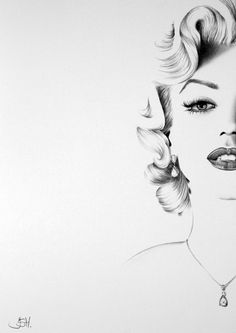 Marilyn Commission by *IleanaHunter on deviantART   This image first pinned to Marilyn Monroe Art board, here: http://pinterest.com/fairbanksgrafix/marilyn-monroe-art/    #Art #MarilynMonroe
