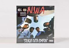 N.W.A 'Straight Outta Compton' LP 180gr Pinterest