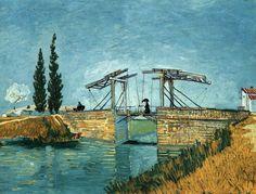 Bridge of Langlois at Arles. Arles, September 1888. \\ Van Gogh