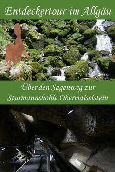 Entdeckertour über den Sagenweg in die Sturmannshöhle Obermaiselstein #allgäu #mitkindern Places To See, Nature, Travel, Outdoor, Group, Board, Hiking With Kids, Holiday Travel, Outdoors