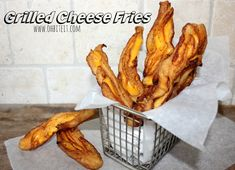 ~Grilled Cheese Fries! | Oh Bite It