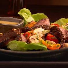 Lean Steak and Mushroom Salad