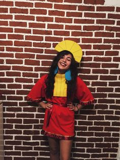 handmade kuzco costume for halloween. (kuzco from the emperor's new groove) DIY #diyhalloweencostumes