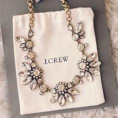 j crew; winter jewels