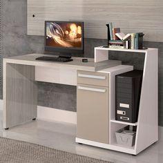 Escrivaninha para Computador S971 Aspen/Carvalle - Kappesberg