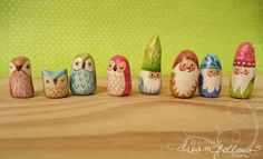 NŌMs 560-563 | and some owlets too! | Aimee Ray | Flickr