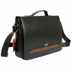 This bag in black made out of PU leather material has a unique design that creates an eye-catching visual effect. This fashion bag is perfect for going to work and other important occasion.