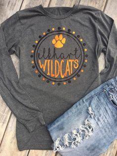 f8f208777 Elkhart Wildcats, Customizable Team Pride, Wildcat Pride, Team Name, Custom  Team Mascot, Custom Team Shirt, School Spirit, School Pride