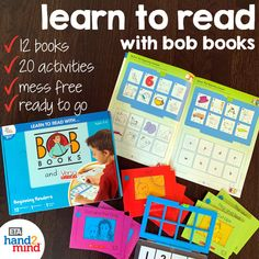 Shop Learn to Read With… Bob Books® and VersaTiles®, Beginning Readers Set and other Literacy products at – a leading online provider of manipulatives and educator resources for PreK through grade. Alphabet Sounds, Letter Sounds, Spelling Activities, Reading Activities, Literacy Stations, Literacy Centers, Learning Letters, Kids Learning, Three Letter Words