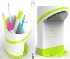 A simple product can also be redesigned to provide its user better functions and features. Ajith Soman has submitted his latest project of redesigning a pen holder to make it even more useful to you.