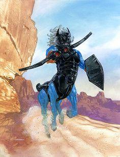 Centaurus. Micronauts. By Dave Dorman by Dave Dorman Artwork, via Flickr