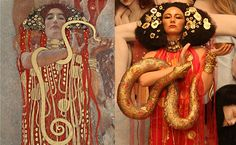The Life Ball 2015 Brought Gustave Klimt Art To Life. And It's Breathtaking. - See more at: http://www.ifitshipitshere.com/life-ball-2015-gustave-klimt-to-life/#sthash.UIXnQoUw.dpuf