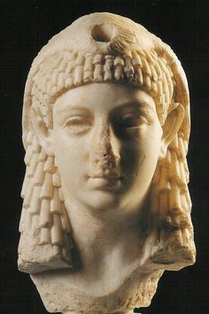 Marble bust of Queen Cleopatra VII                                                                                                                                                      More
