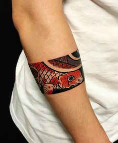 Japanese arm tattoo