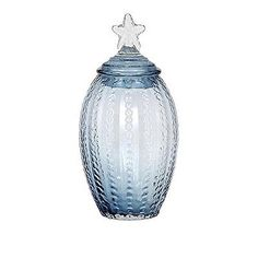 Vases 101415: Imax 47683 Conch Glass Canister, Large -> BUY IT NOW ONLY: $60.59 on eBay!