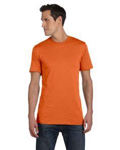 Bella + Canvas Unisex Jersey Short-Sleeve T-Shirt 3001C ORANGE