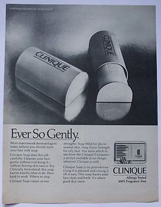 Clinique soap. I loved this container!