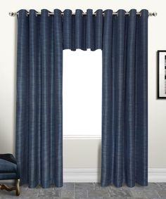 Loving this Navy Brighton Blackout Curtain Panel on #zulily! #zulilyfinds