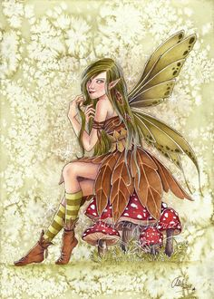 A4 Print  Pixie III by MartaSarmiento on Etsy, $11.50