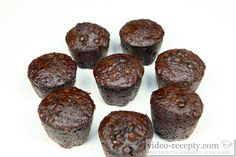 Recept Čokoládové muffiny Starbucks - čokoládové muffiny Starbucks, Muffin, Cookies, Chocolate, Breakfast, Desserts, Food, Crack Crackers, Morning Coffee