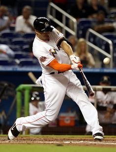 Giancarlo Stanton, the strongest player in baseball. He hits the longest home runs and plays a great right field. He is a real-life Roy Hobbs.