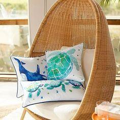 Sea Creature Pillow Cover #pbteen