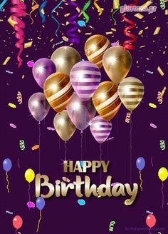 Happy Birthday Wishes Pics, Happy Birthday Gif Images, Birthday Wishes Flowers, Happy Birthday Video, Happy Birthday Celebration, Happy Birthday Beautiful Sister, Birthday Cake Gif, Happy Birthday Cousin, Birthday Quotes