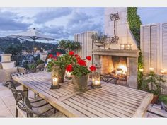Unique rental opportunity!  Amazing view and fireplace