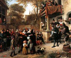 Jan Steen A village wedding
