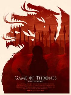 Mock movie poster for Game of Thrones Season 2.