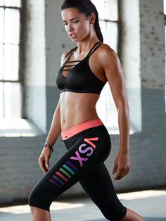 Adriana Lima shares her workout tips for the new Victoria's Secret VSX collection. #vsx #adrianalima #brazilian #victoriassecret #fabfashionfix