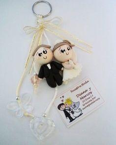 novios recuerdo boda pasta francesa flexible